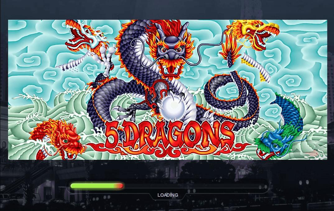 Free Slots 5 Dragons