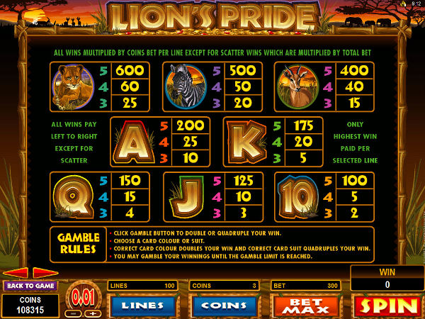 Pokies lion sterling heights gambling