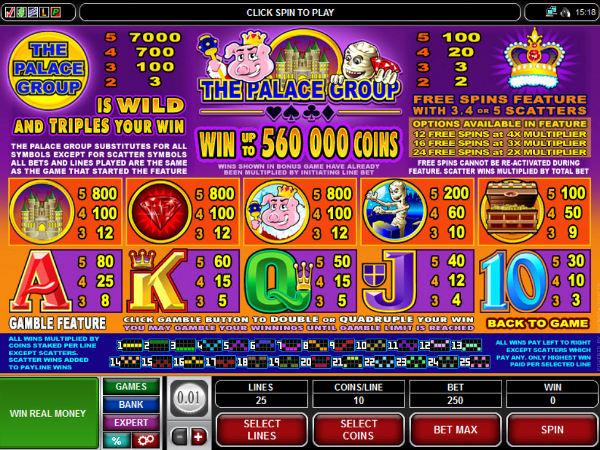 Palace Group Casinos