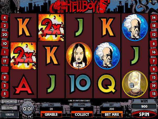 Hellboy slots free