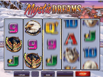 Mystic Dreams pay table