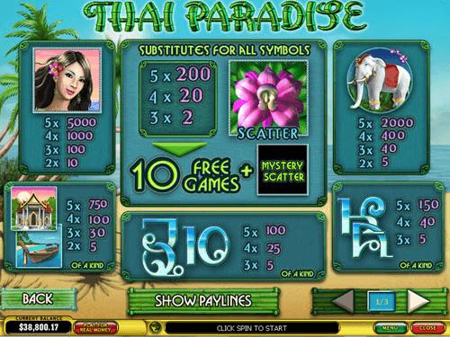 Play Thai Paradise Online Pokies at Casino.com Australia
