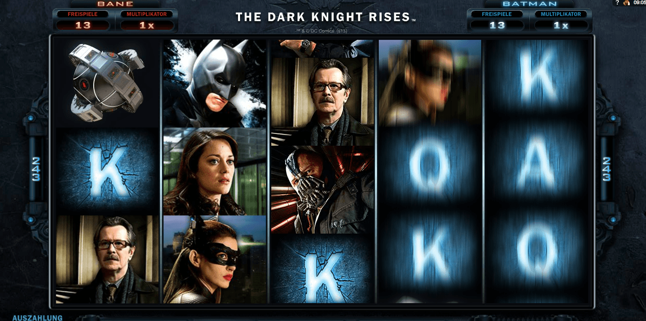the dark knight online casino