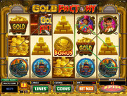 Spin Palace Casino Screenshot Gold Factory